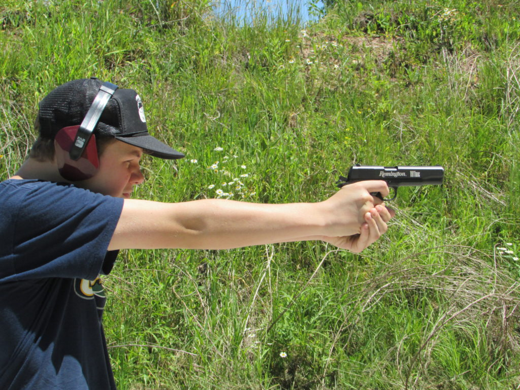 THREE TASKS FOR HANDGUN MASTERY