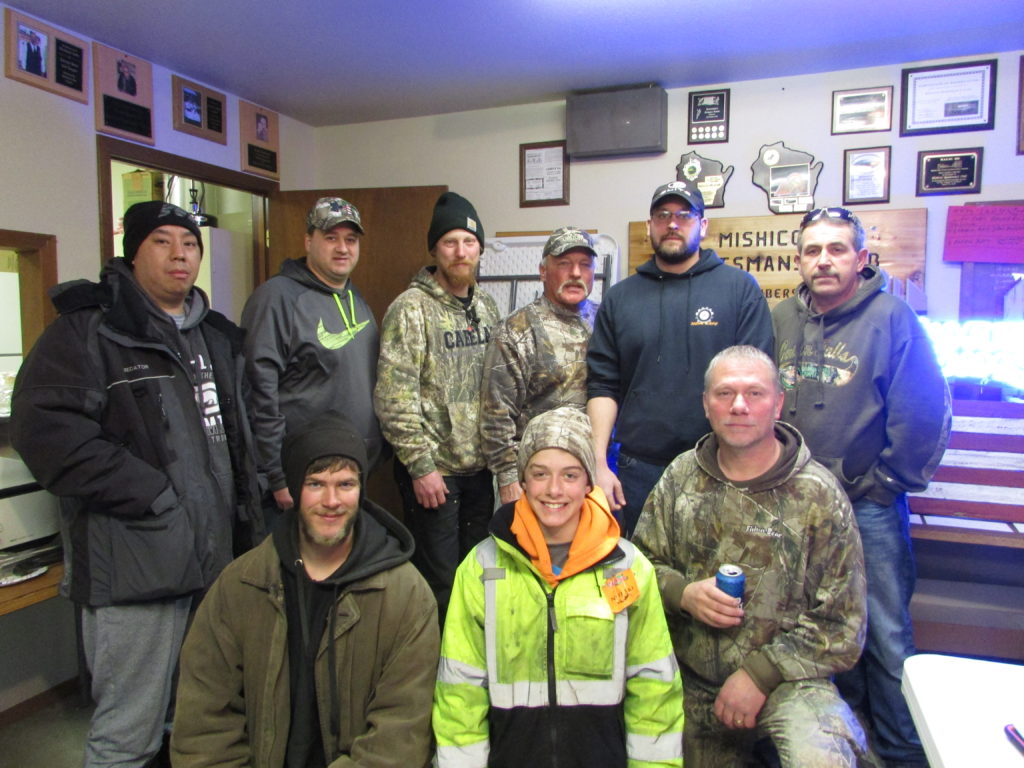 The 29th Annual Ice Fishing Derby  by the Mishicot Sportsman Club
