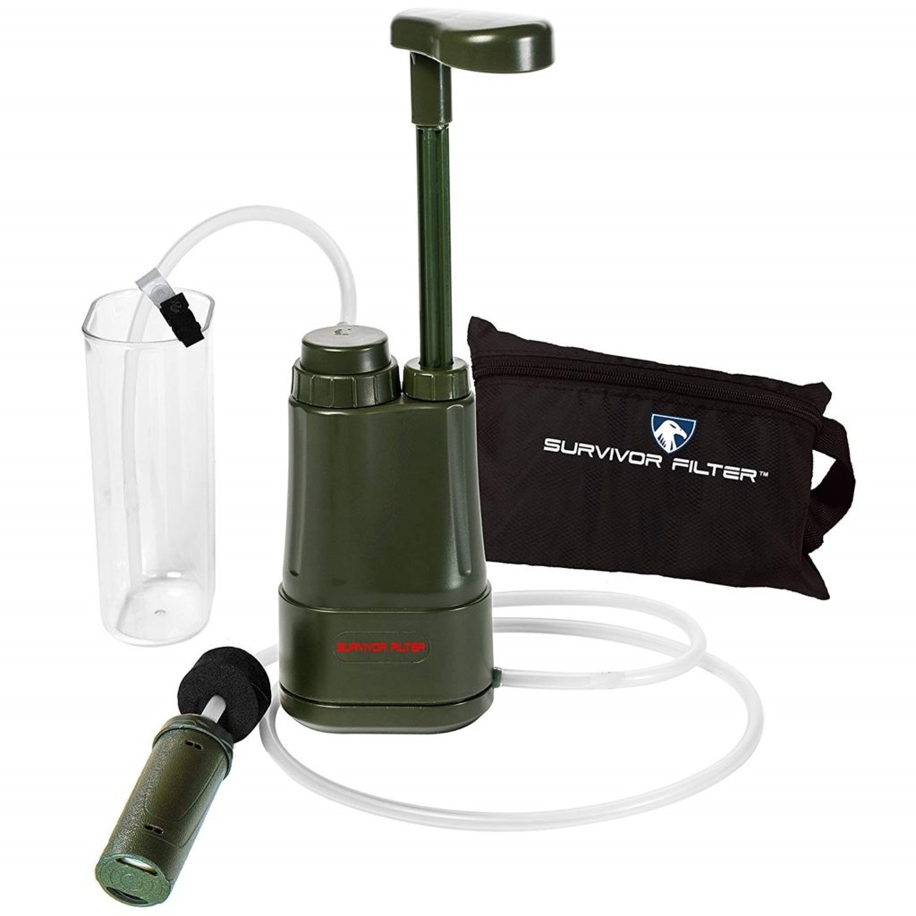 SURVIVOR FILTER PRO™ Portable Water Filter Pump