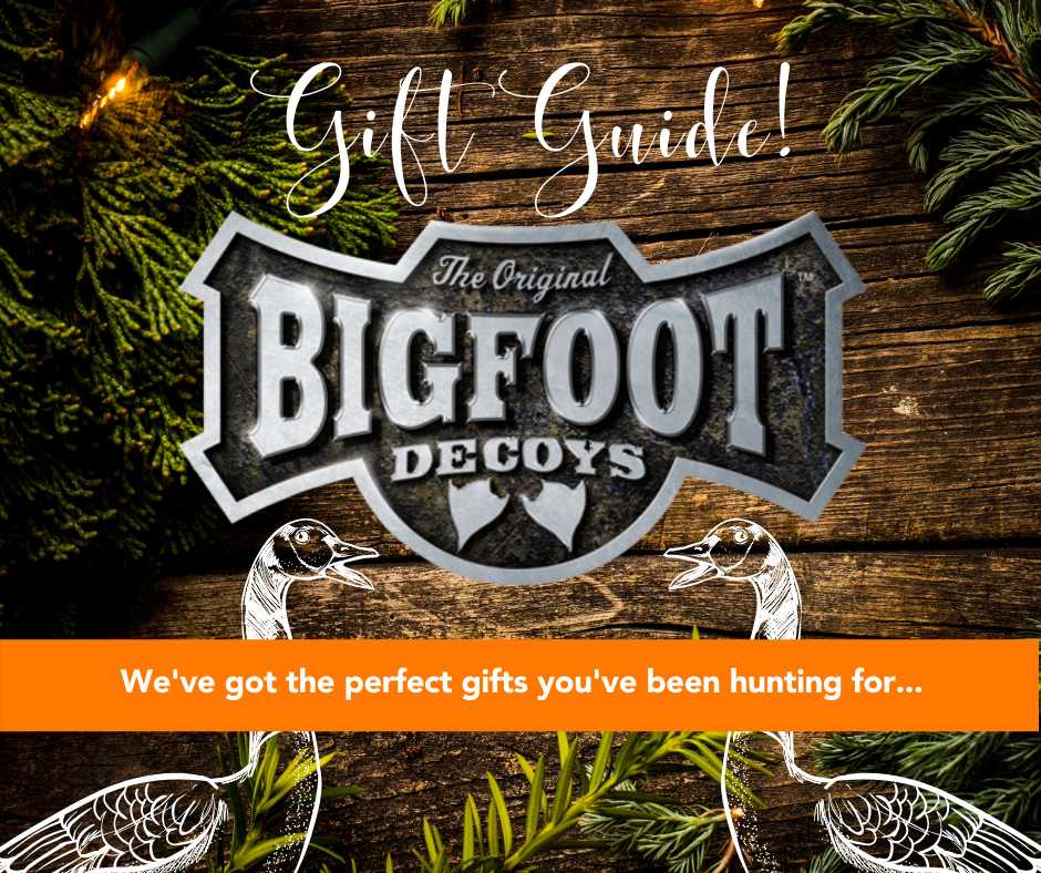 Give Big This Holiday with Bigfoot Decoys!
