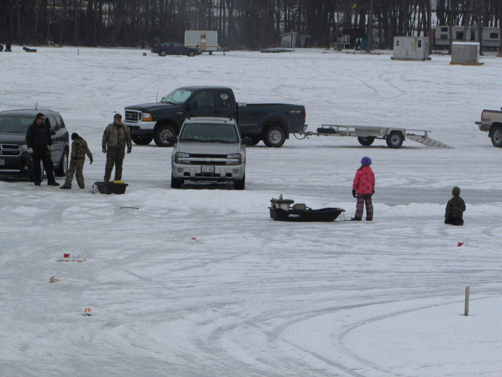 NO COLD, NO ICE, NO SLIME  Best Ice Fishing Derby Ever and You'll Be Warm.