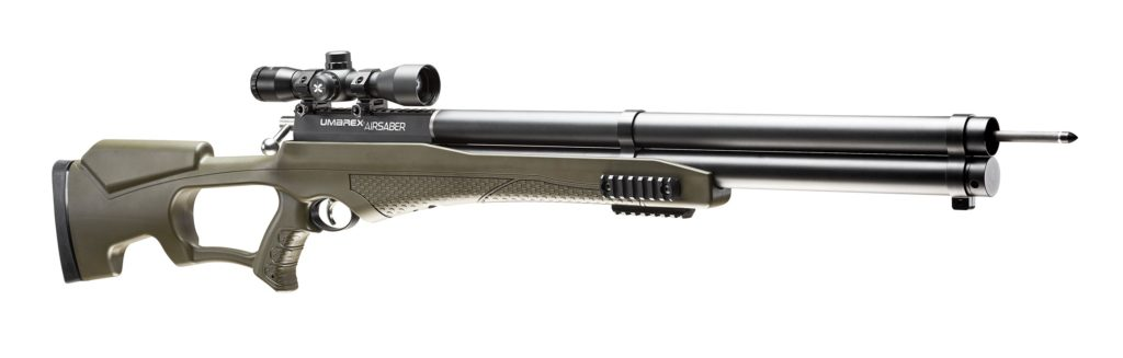 Check out the Umarex AirSaber launched at the ATA show (archery trade show):