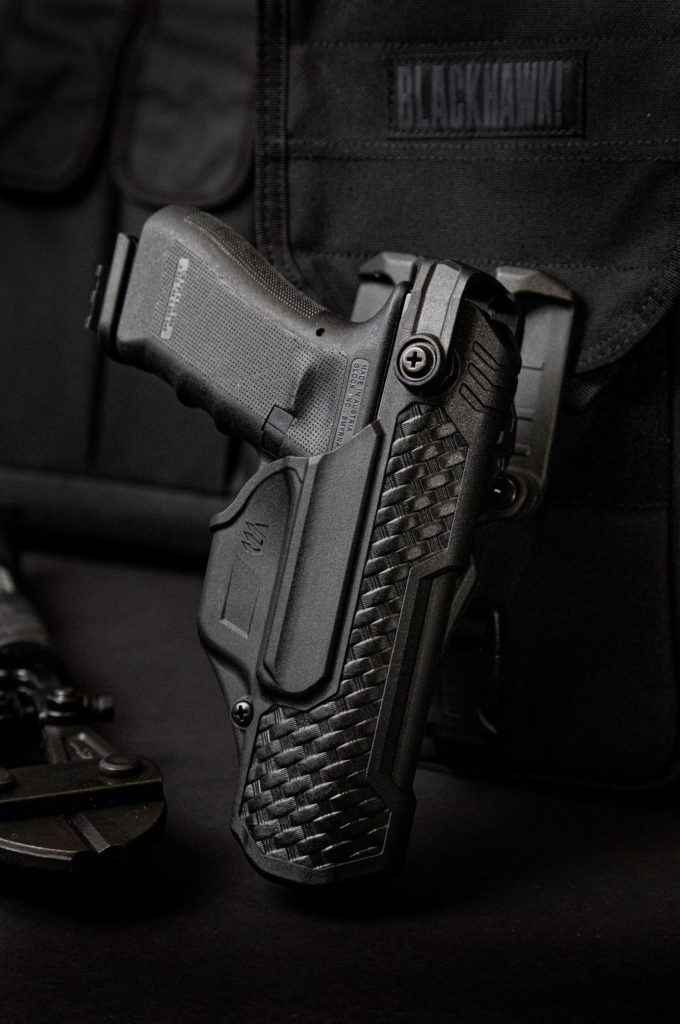 Blackhawk™ Adds New Basketweave Holsters to T-Series Duty Line