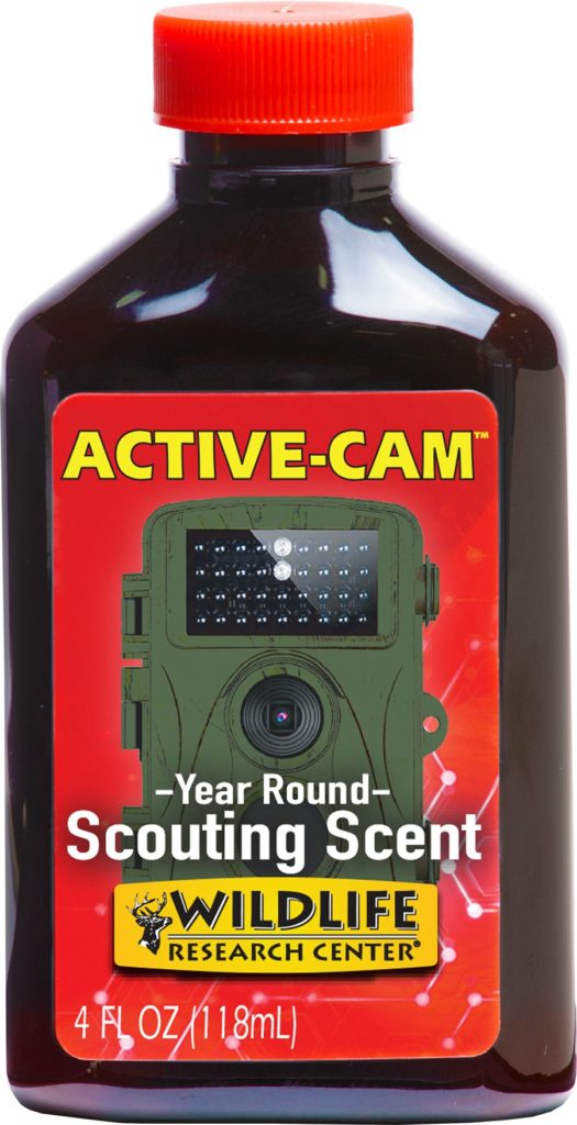 New – Active-Cam™  Year-round Scouting Scent