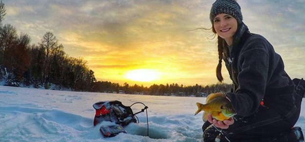 Late Season Ice Fishing Tactics for Big Fish from the OutdoorHub article by Derrek Sigler